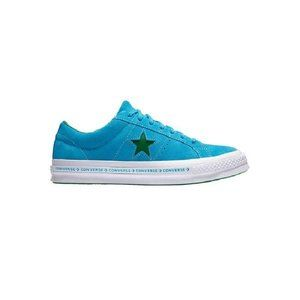 Converse Men's One Star OX  Blue/Green Size 10.5
